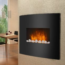 Wall Mounded Fireplace