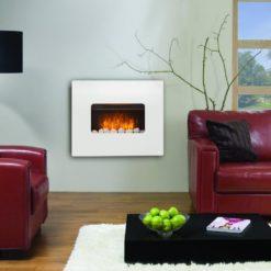 Mirror Glass Fireplace