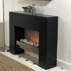 Stylish Free Standing Fireplace