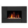 Slim Wall Mounted Fireplace