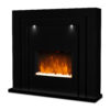 Gloss Electric Fireplace
